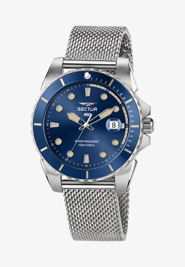 Watch - silber blau