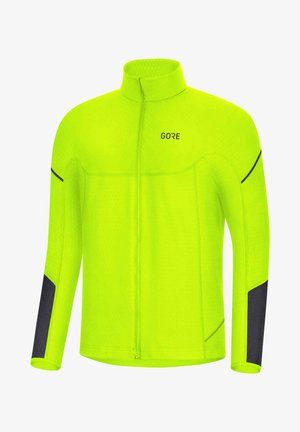 Training jacket - neon green