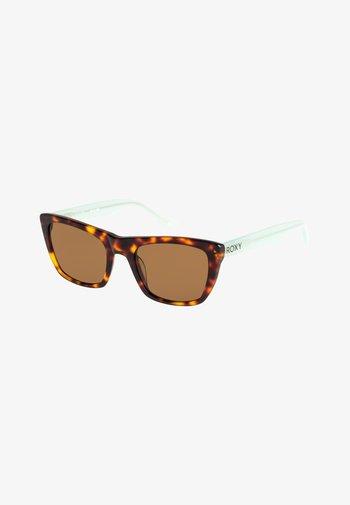 BACOPA  - Sunglasses - brown tortoise/aqua/brown