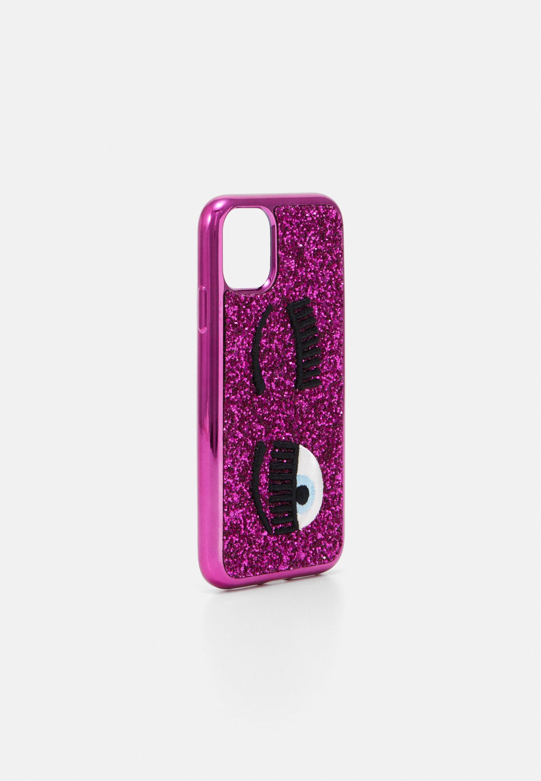 CHIARA FERRAGNI GLITTER FLIRTING CASE IPHONE 11 - Mobilveske - fuxia/rosa th5iNiTevVOb5AD