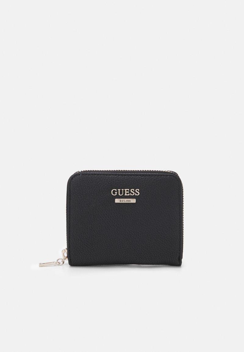 Guess - DESTINY SMALL ZIP AROUND - Peněženka - black