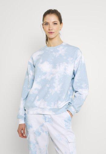 Sweatshirt - blue dusty light/blue