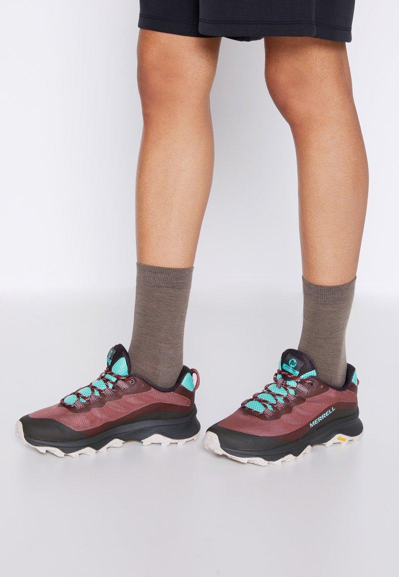 Merrell - MOAB SPEED - Zapatillas de trail running - burlwood