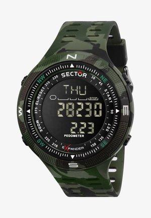 Digitaal horloge - grün
