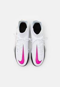 Nike Performance - PHANTOM GT CLUB DF FG/MG - Moulded stud football boots - white/pink blast/black - 3