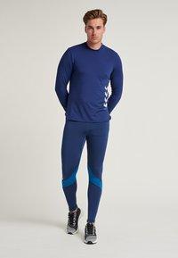 Hummel - HMLALONZO  - Leggings - medieval blue - 1