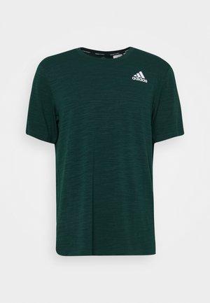 CITY ELEVATED TRAINING WORKOUT DESIGNED4TRAINING AEROREADY PRIMEGREEN T-SHIRT - T-shirt z nadrukiem - collegiate green melange