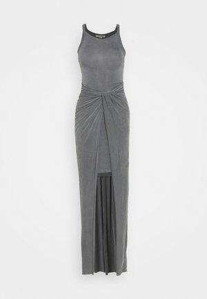 SAMI DRESS - Maxi dress - chrome grey