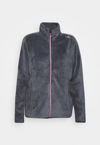 CMP - WOMAN JACKET - Fleece jacket - graffite-pink fluo