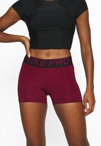 Nike Performance - Tights - dark beetroot/black - 4