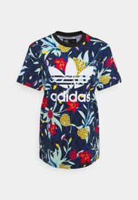 adidas Originals - T-shirt z nadrukiem - multicolor - 4