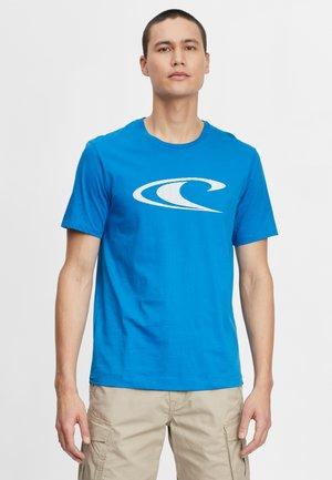 WAVE - Camiseta estampada - victoria blue