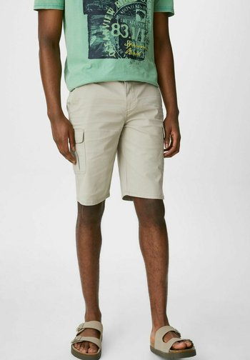Cargo trousers - taupe