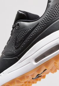Nike Golf - AIR MAX 1 G - Golfskor - black/light brown - 5