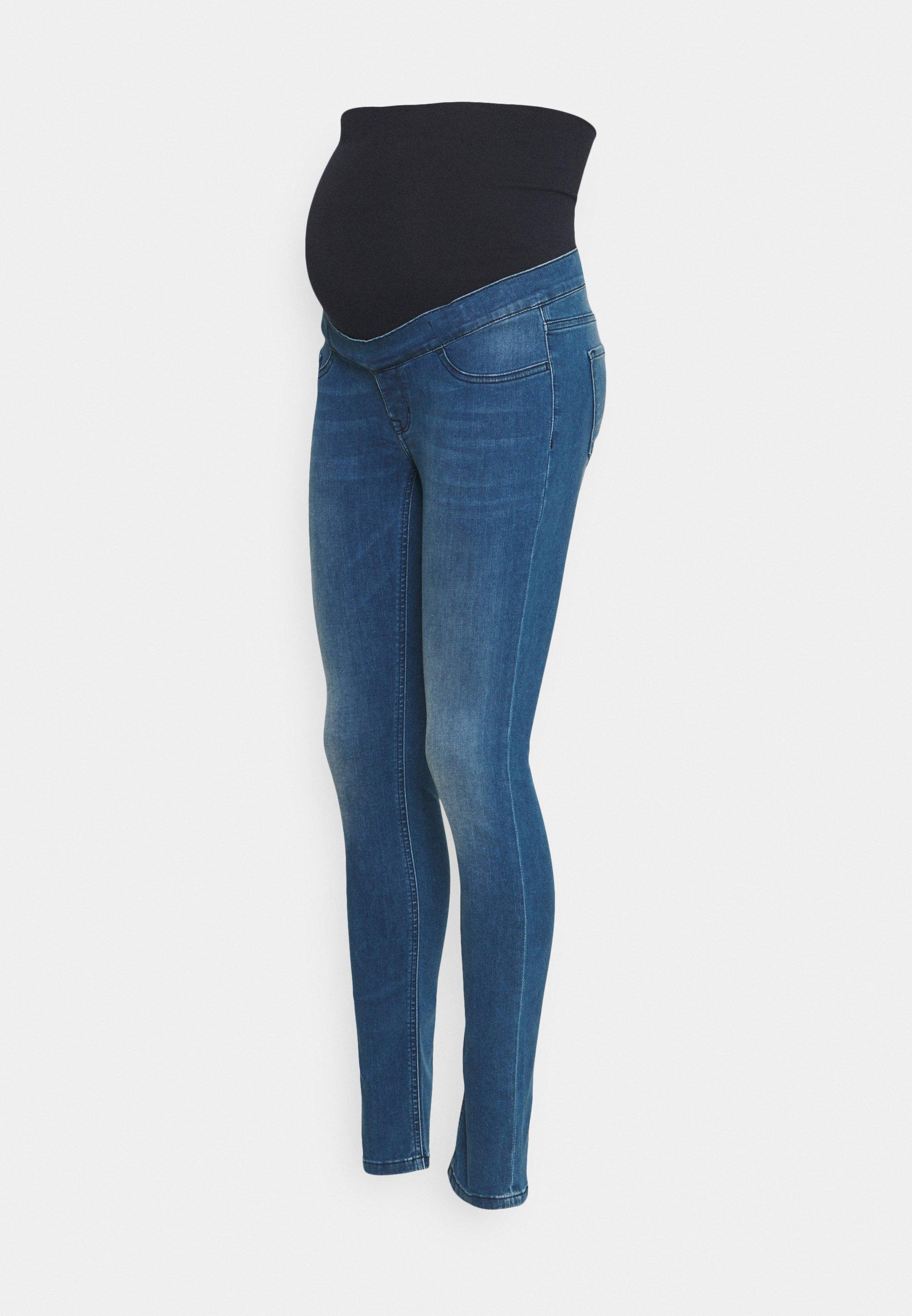 Women ELLA AUTHENTIC BLUE - Slim fit jeans
