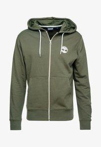 Timberland - ZIP HOODIE - Zip-up hoodie - grape leaf - 3