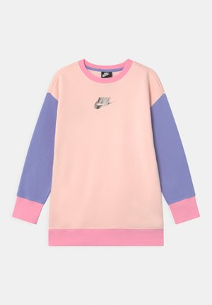 CREW - Sweatshirt - orange pearl/light thistle/pink