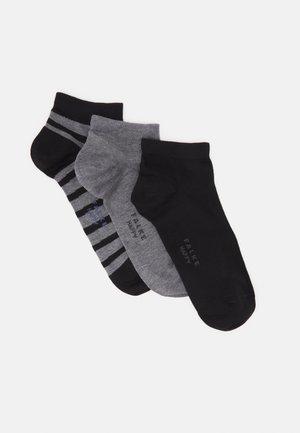 HAPPY BOX 3 PACK - Socks - black