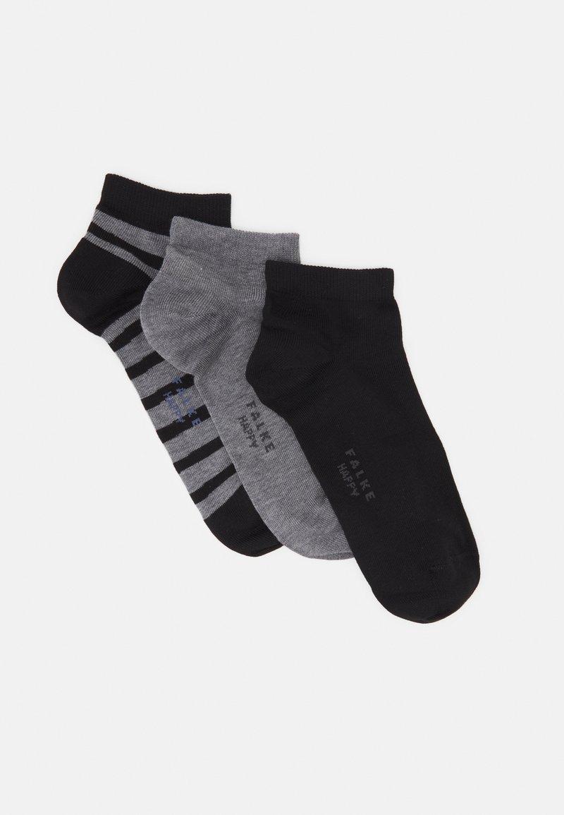FALKE - HAPPY BOX 3 PACK - Socks - black