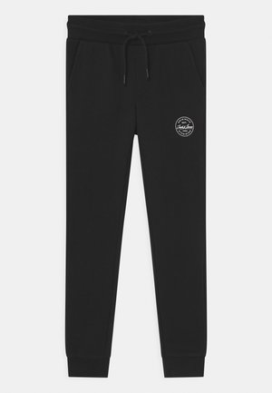 JJIGORDON JJSHARK - Tracksuit bottoms - black