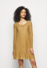 M Missoni - ABITO - Jumper dress - gold - 0