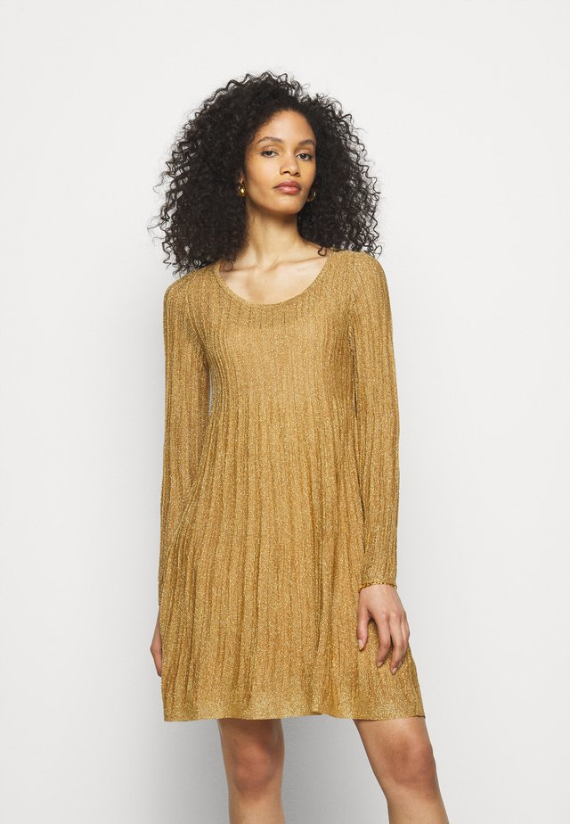 ABITO - Jumper dress - gold