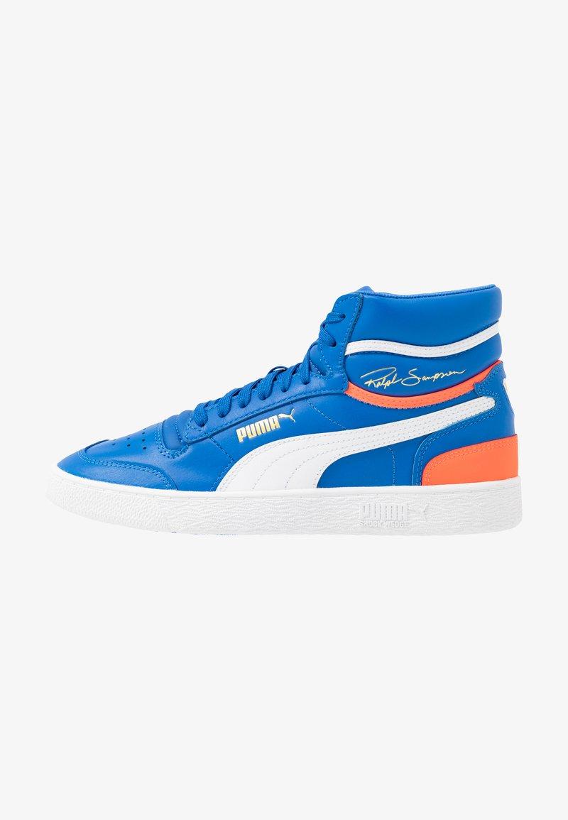 Puma - RALPH SAMPSON - Sneakers hoog - palace blue/lava blast/white