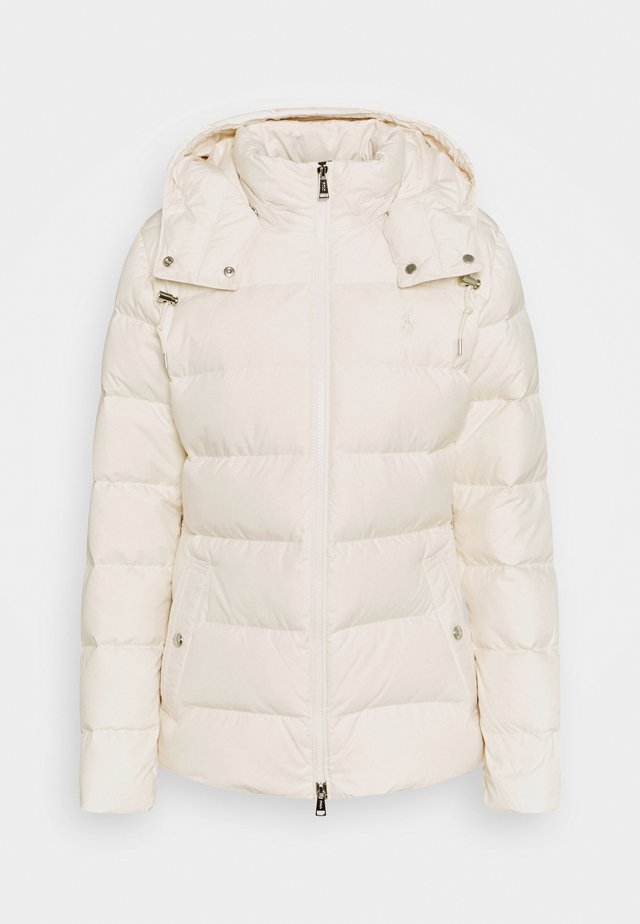 Daunenjacke - guide cream