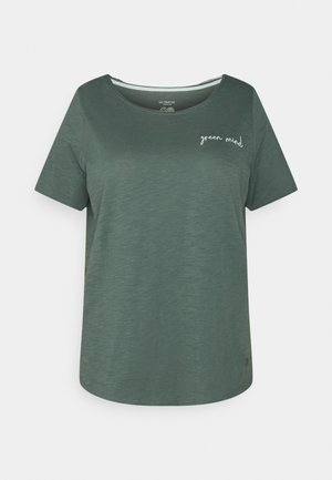 FRONT ARTWORK - Print T-shirt - smart dark green