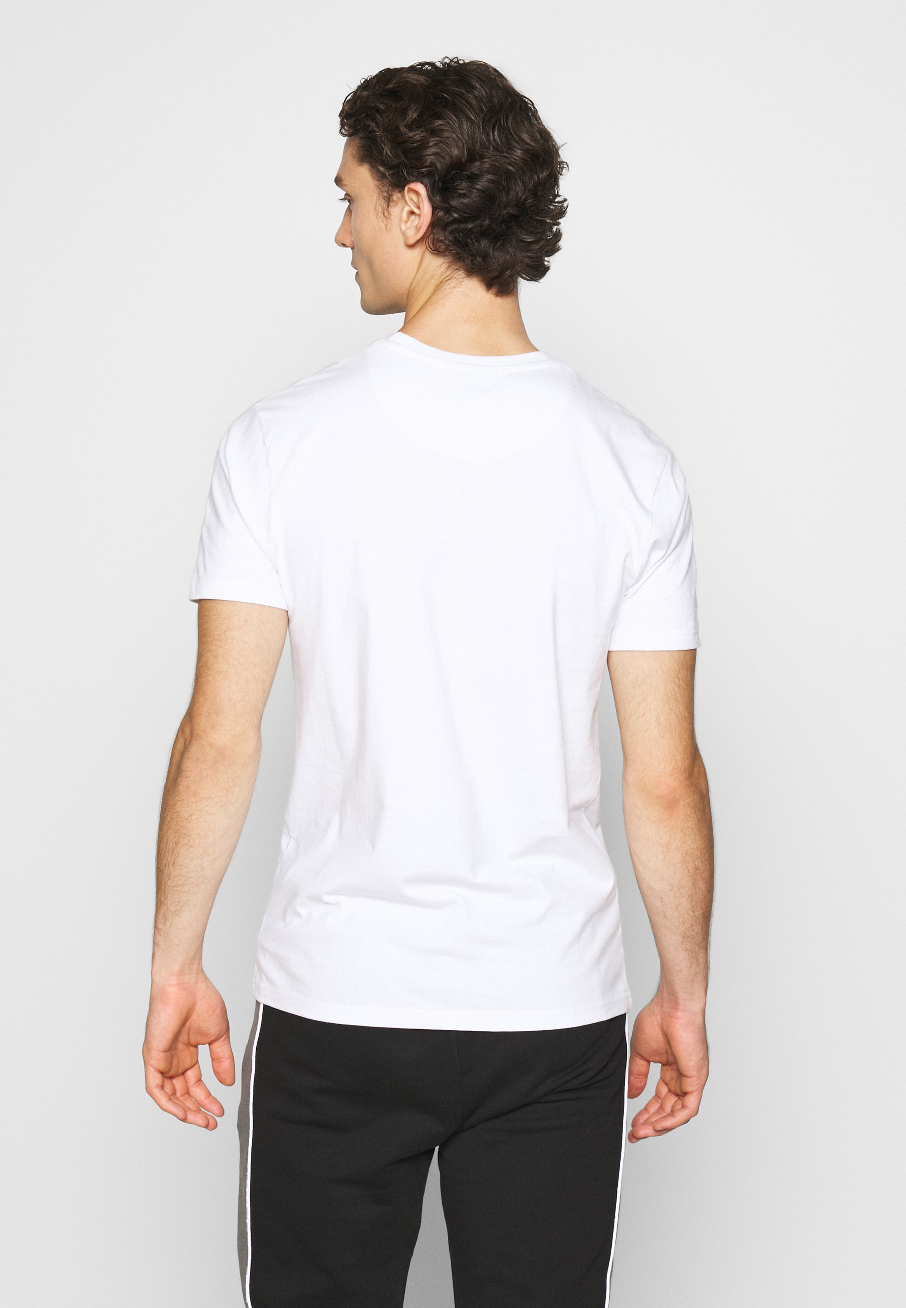 Good For Nothing FITTED WITH STACKED BRANDING - Print T-shirt - white A6QRw