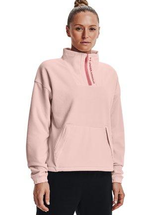 RUSH ZIP - Forro polar - pink