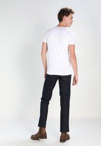 Petrol Industries - 2 PACK - T-shirt - bas - bright white - 2
