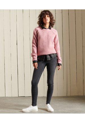 Jumper - rose tweed
