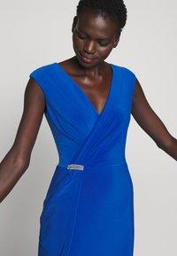 Lauren Ralph Lauren - CLASSIC LONG GOWN - Vestido de fiesta - portuguese blue - 4