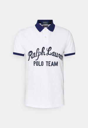 BASIC MESH - Koszulka polo - white multi