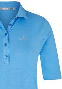 Rabe 1920 - MIT UNIFARBENEM STOFF UND GLITZERSTEINEN - Polo shirt - hellblau - 2