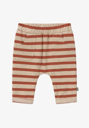GERTI BABY - Trousers - rusty