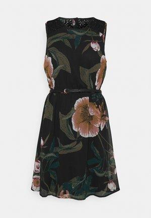 VMKATNISS SHORT DRESS - Day dress - black