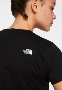 The North Face - WOMENS EASY TEE - Print T-shirt - black - 7