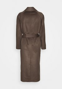 pure cashmere - BELTED COAT - Classic coat - cocoa brown - 1