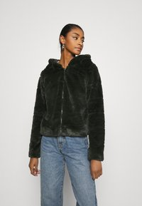 ONLY - ONLCHRIS HOODED JACKET - Winter jacket - rosin - 0