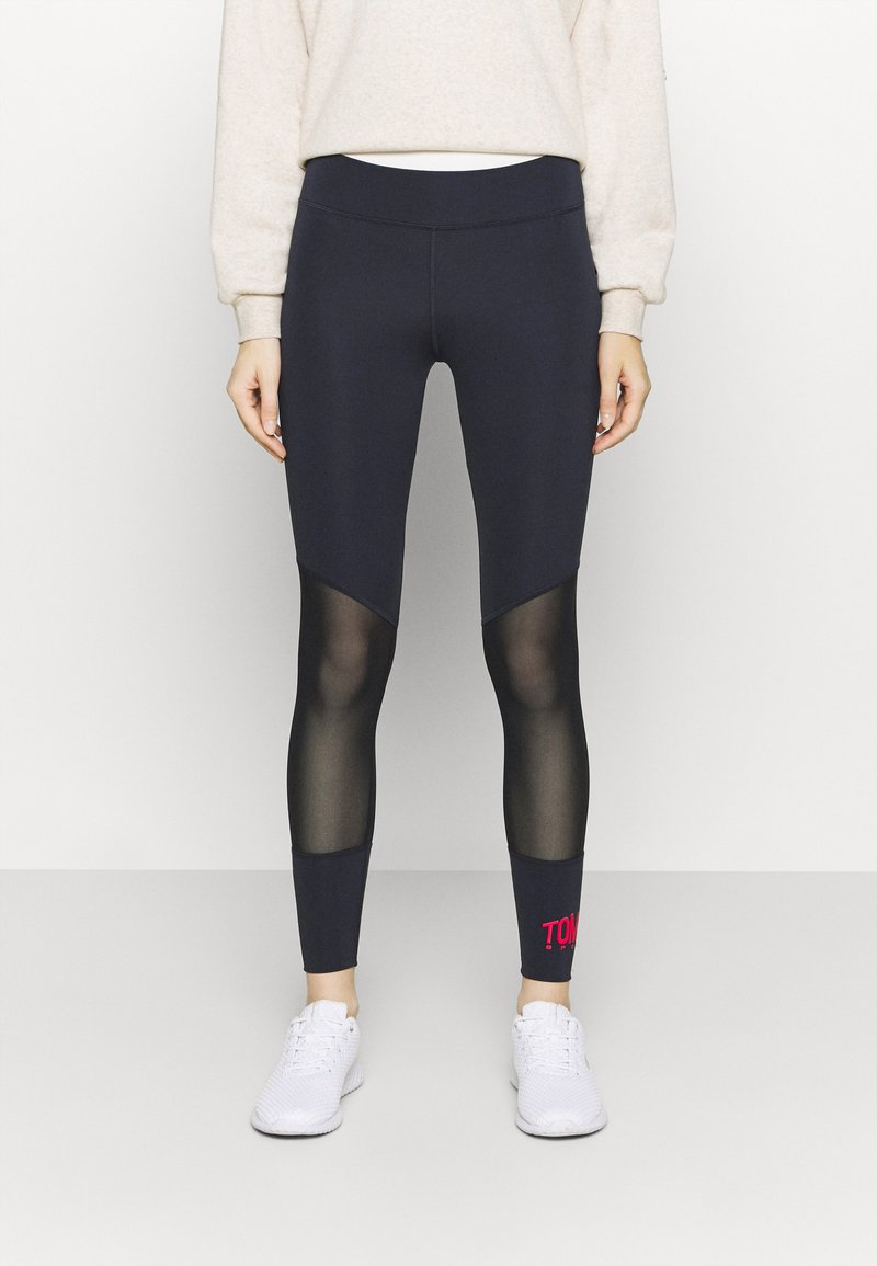 Tommy Hilfiger - FULL LENGTH  - Tights - blue