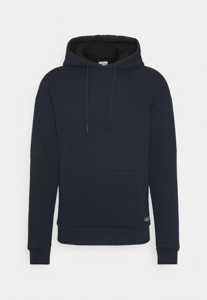 JCOBUTTON - Sweat à capuche - navy blazer