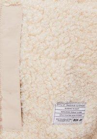 Bershka - Fleece jacket - stone - 5