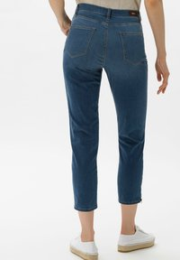 BRAX - STYLE MARY S - Slim fit jeans - used water blue - 2