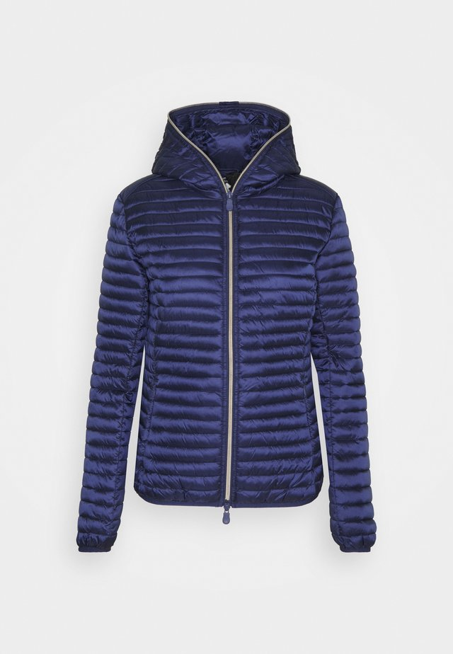 IRIS ALEXIS HOODED JACKET - Jas - navy blue