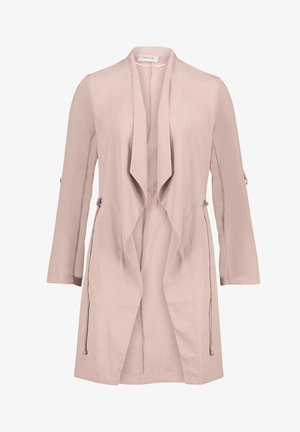 Short coat - dusky pink