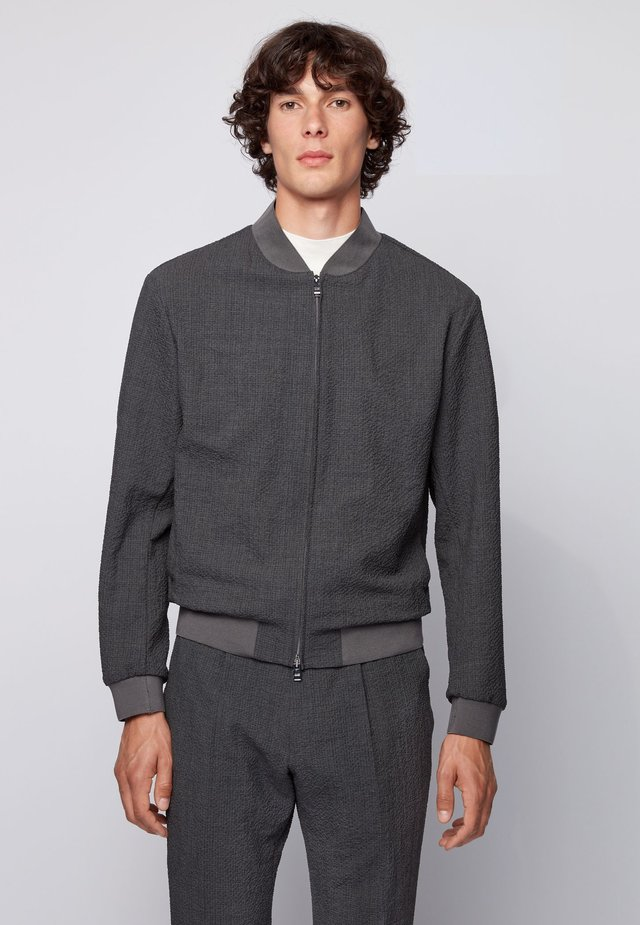 NOLWIN - Giubbotto Bomber - dark grey