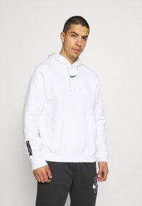 Nike Sportswear - ZIGZAG HOODIE - Sweatshirt - white - 0