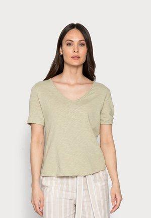 HEAVY SHIRT - Basic T-shirt - olive tree